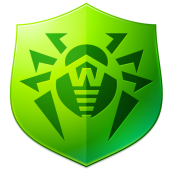 Dr.Web v.9 Anti-virus logo