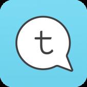 Tictoc – Ücretsiz SMS & Mesaj logo