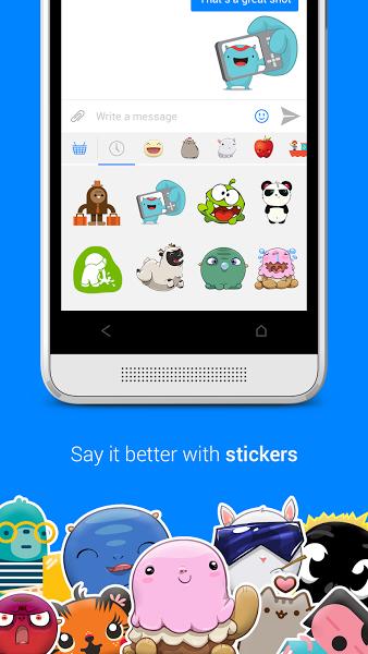 Android için Facebook Messenger ekran görüntüsü 2