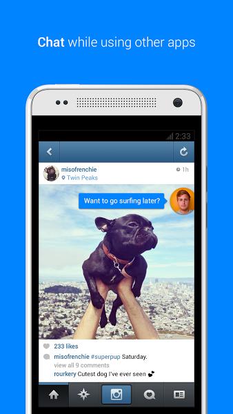 Android için Facebook Messenger ekran görüntüsü 3