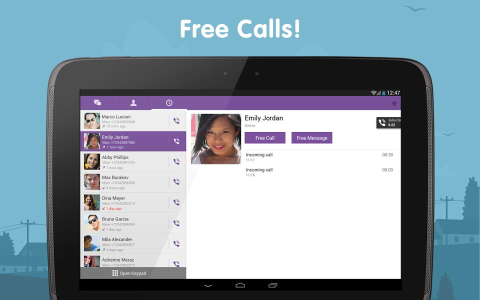 Android için Ücretsiz Konuşma Uygulaması ekran görüntüsü 1