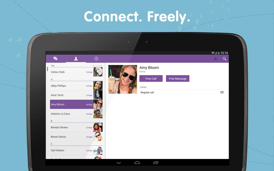 Android için Ücretsiz Konuşma Uygulaması ekran görüntüsü 3