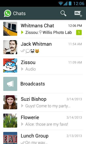 Android için Ücretsiz Mesajlaşma Uygulaması ekran görüntüsü