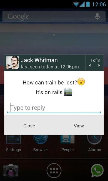 Android için Ücretsiz Mesajlaşma Uygulaması ekran görüntüsü 3