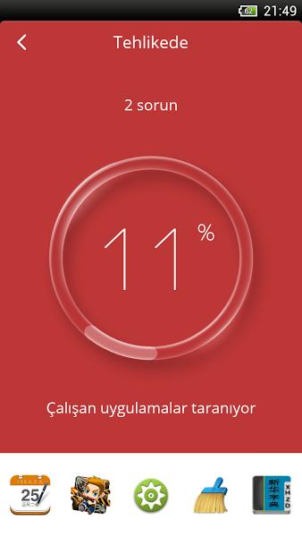 Ücretsiz Android Anti-Virüs Uygulaması ekran görüntüsü 2