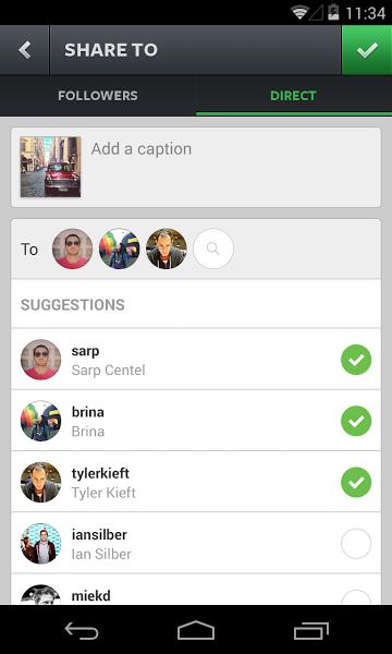 Android için Resim ve Video Paylaşma Uygulaması ekran görüntüsü 2