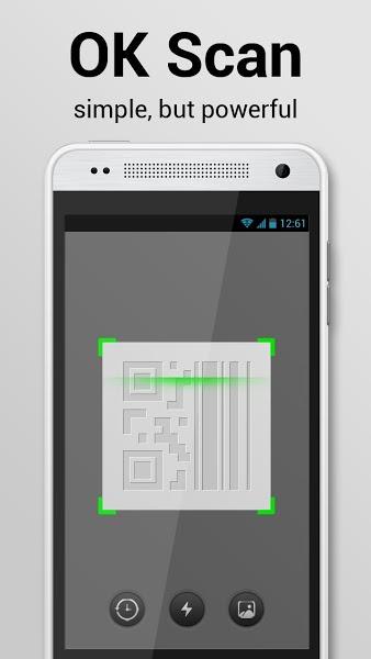 Android için Barkod Okuma Uygulaması ekran görüntüsü 1