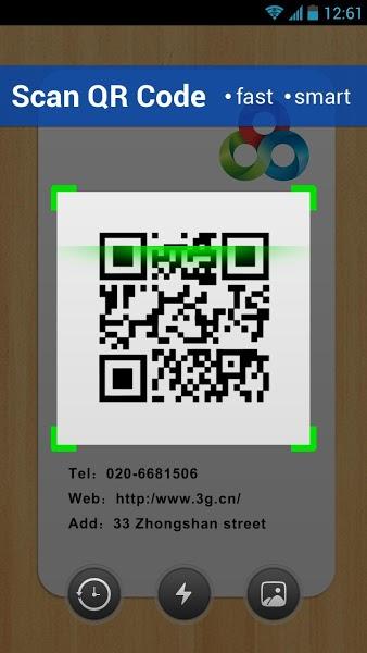 Android için Barkod Okuma Uygulaması ekran görüntüsü 2