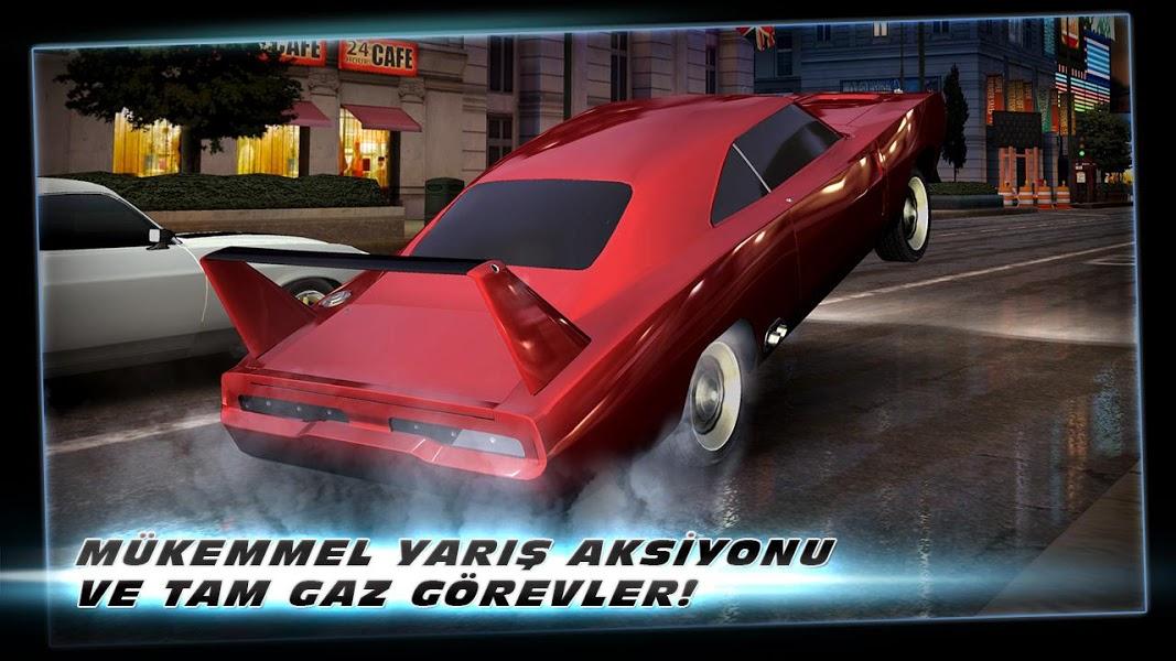 Hızlı ve Öfkeli 6: Oyun ekran görüntüsü