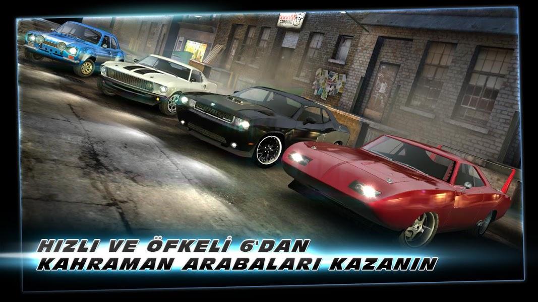 Hızlı ve Öfkeli 6: Oyun ekran görüntüsü 1