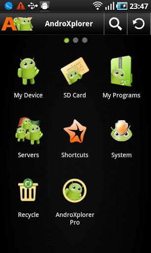 AndroXplorer File Manager Apk İndir - Android için Dosya Yönetici ekran görüntüsü