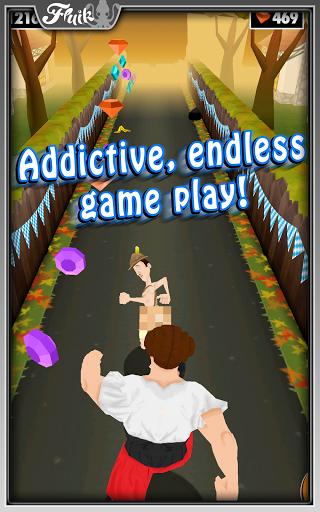Android için Koşucu Oyunu ekran görüntüsü 1