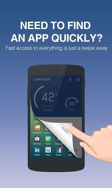 Clean Master Apk İndir - Android Cihaz Temizleme ve Performans Artırma ekran görüntüsü 2