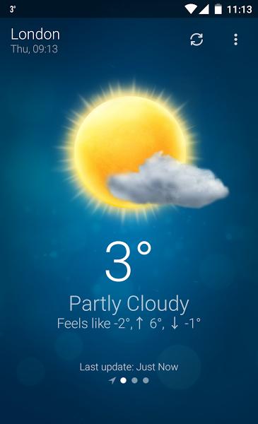 Android için Hava Durumu - Weather Apk İndir  ekran görüntüsü