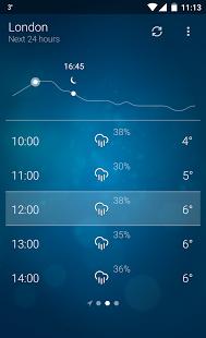 Android için Hava Durumu - Weather Apk İndir  ekran görüntüsü 2
