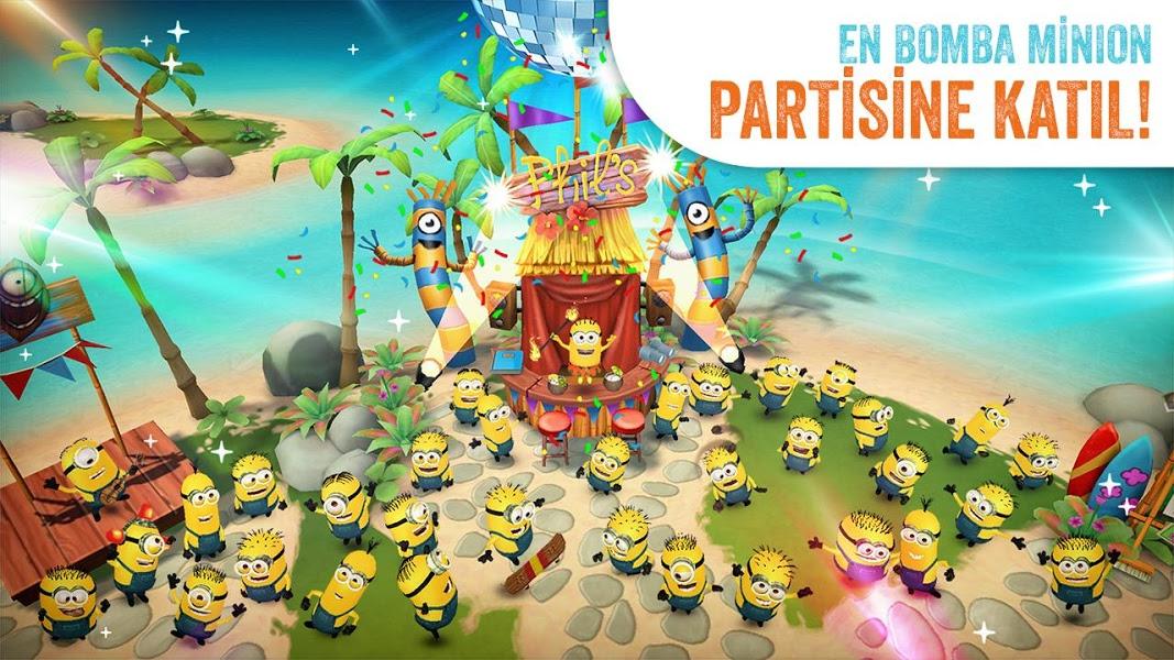 Minions Paradise Apk İndir - Android Çılgın Hırsız Oyunu ekran görüntüsü