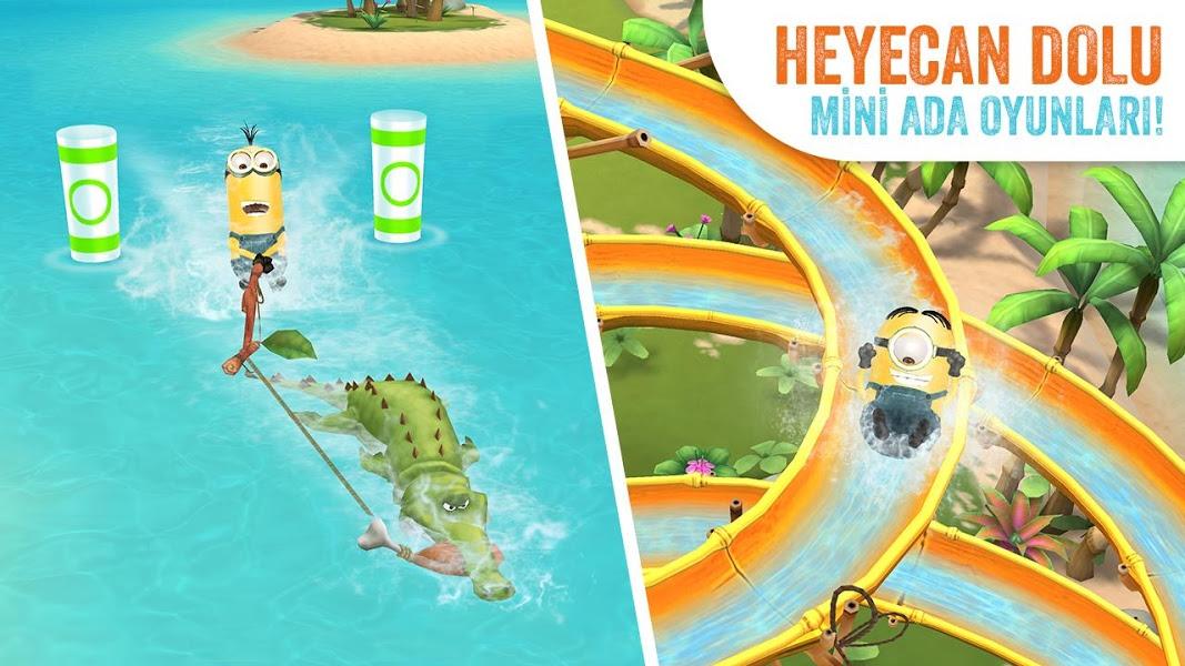 Minions Paradise Apk İndir - Android Çılgın Hırsız Oyunu ekran görüntüsü 1
