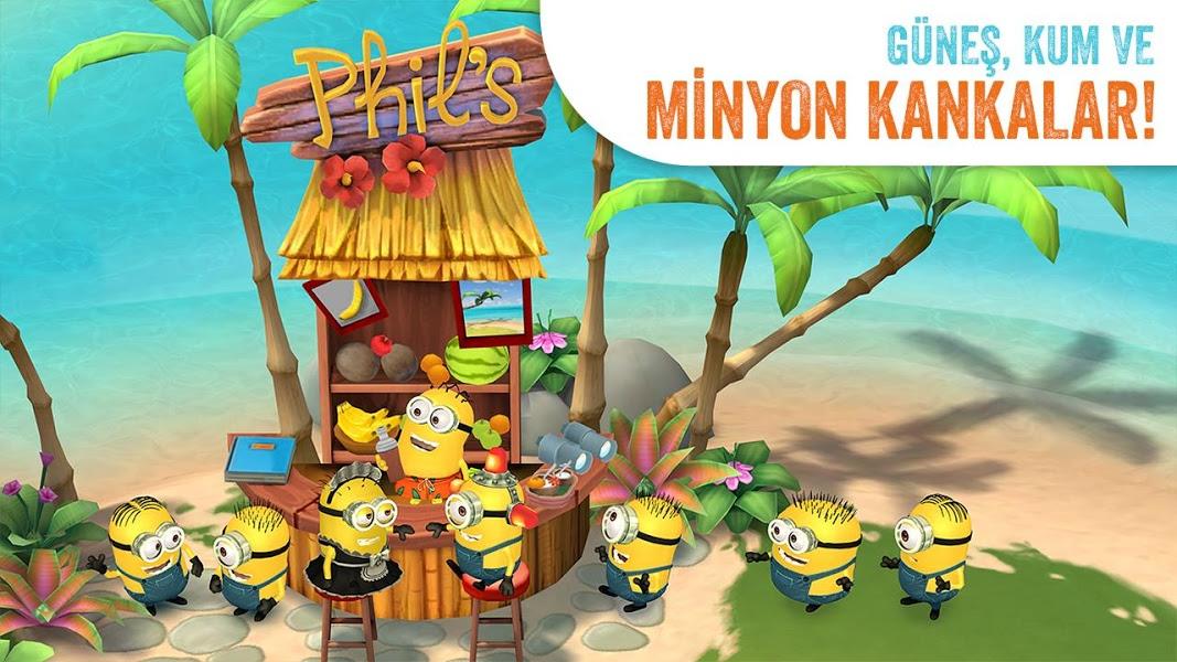 Minions Paradise Apk İndir - Android Çılgın Hırsız Oyunu ekran görüntüsü 2