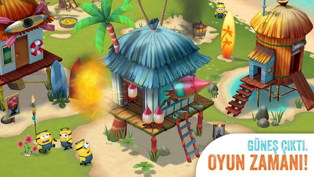 Minions Paradise Apk İndir - Android Çılgın Hırsız Oyunu ekran görüntüsü 3