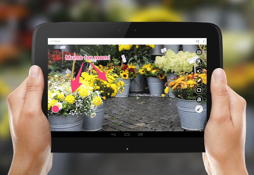 Skitch Apk İndir - Android için Fotoğraf, çek, Gönder ekran görüntüsü