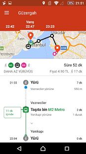 TRAFI çevrimdışı toplu ulaşım ekran görüntüsü 2