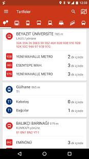 TRAFI çevrimdışı toplu ulaşım ekran görüntüsü